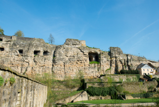 The iconic casemates of Luxembourg