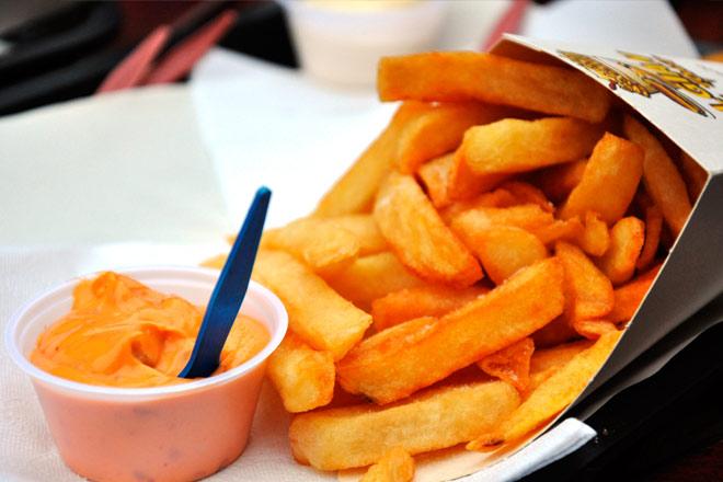 La Belgique est connue pour ses délicieuses frites flamandes