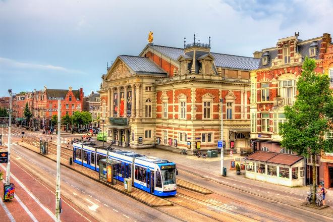 Concertgebouw bevindt zich op het Museumplein