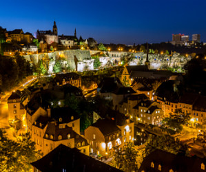 Luxembourg, ville contraste