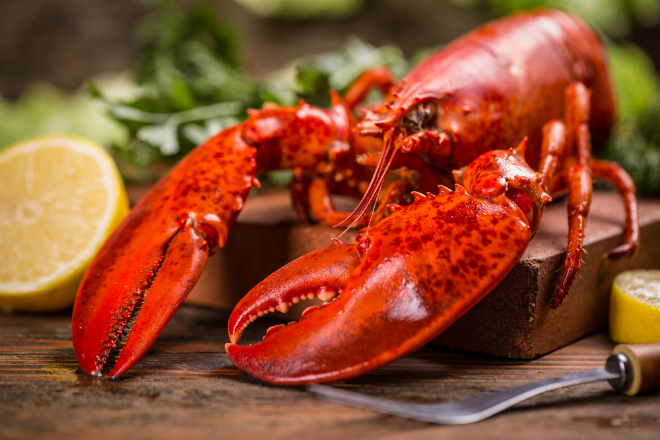 Eat the finest lobster at Clairefontaine