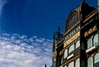 The Art Nouveau building Old England