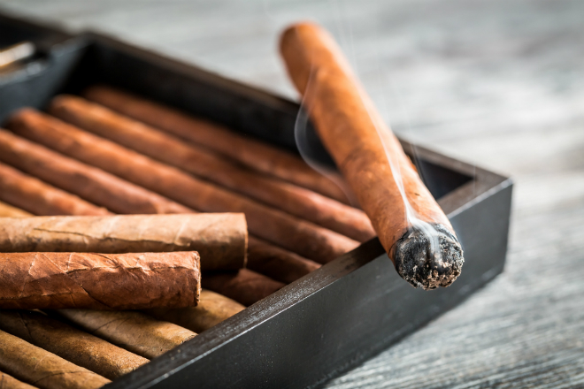 At Le Sud you can even get cigars!