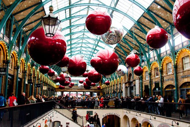 Le marché couvert Covent Garden