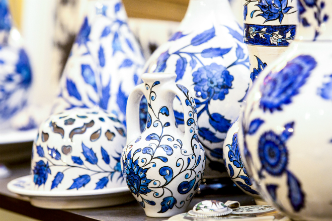 Luxembourg's unique and beautiful porcelain