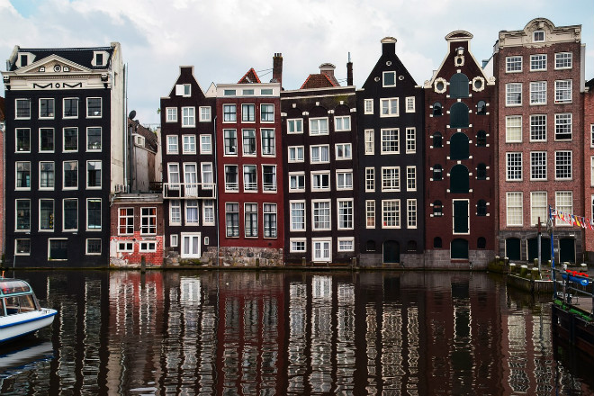 La merveilleuse architecture d'Amsterdam