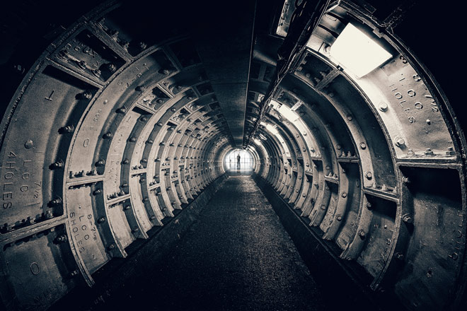 À berlin il y a des structures souterraines