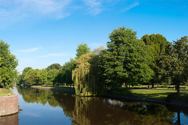 Le westerpark à amsterdam