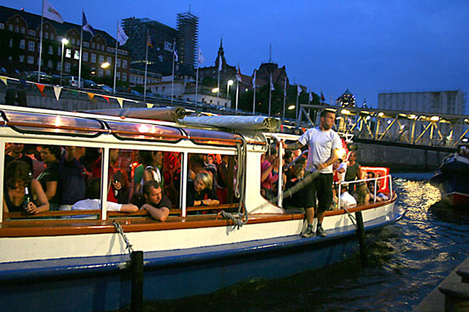Partyschiff Hamburg