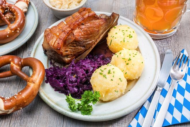 Un tipico pasto bavarese
