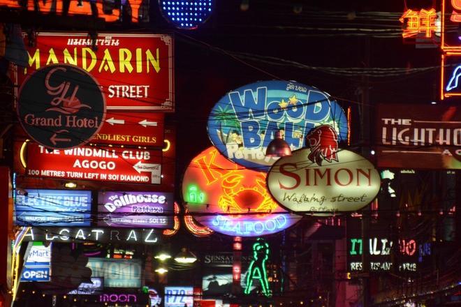 Nightclub in Pattaya