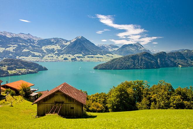 images de paysage suisse - Image