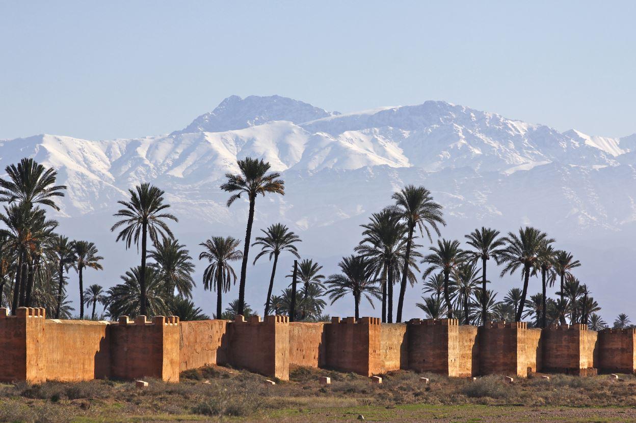 paysage marrakech