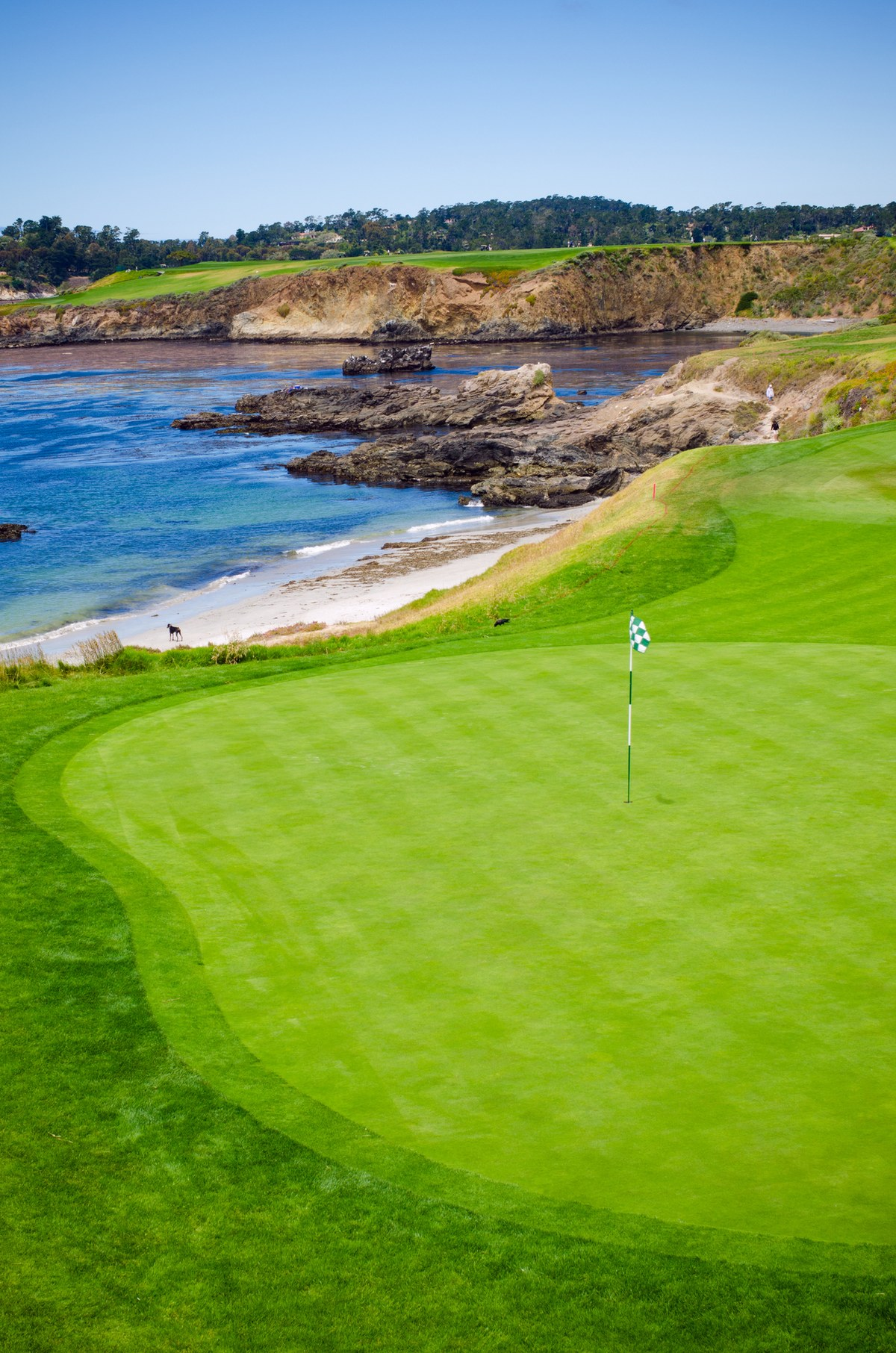 Pebble Beach Golf Links, California - USA