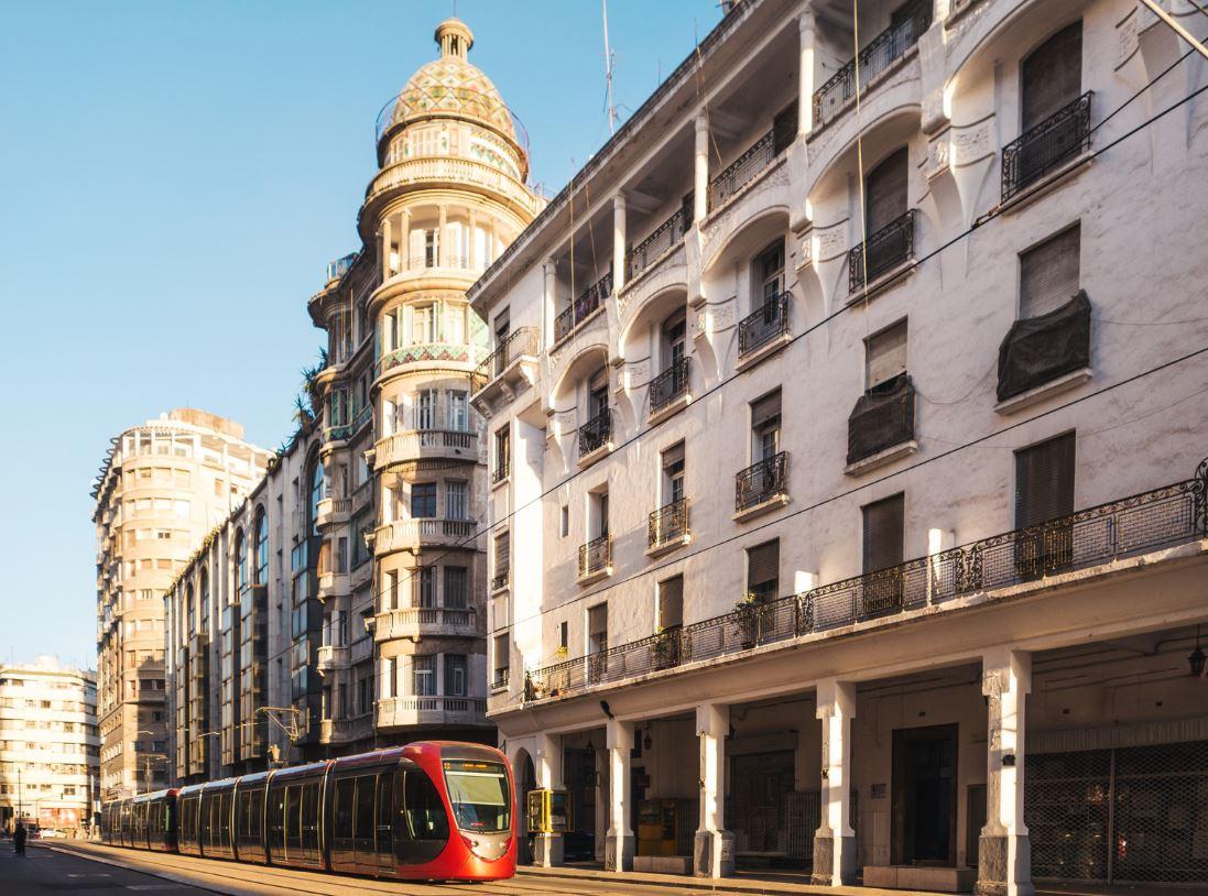 modern city casablanca