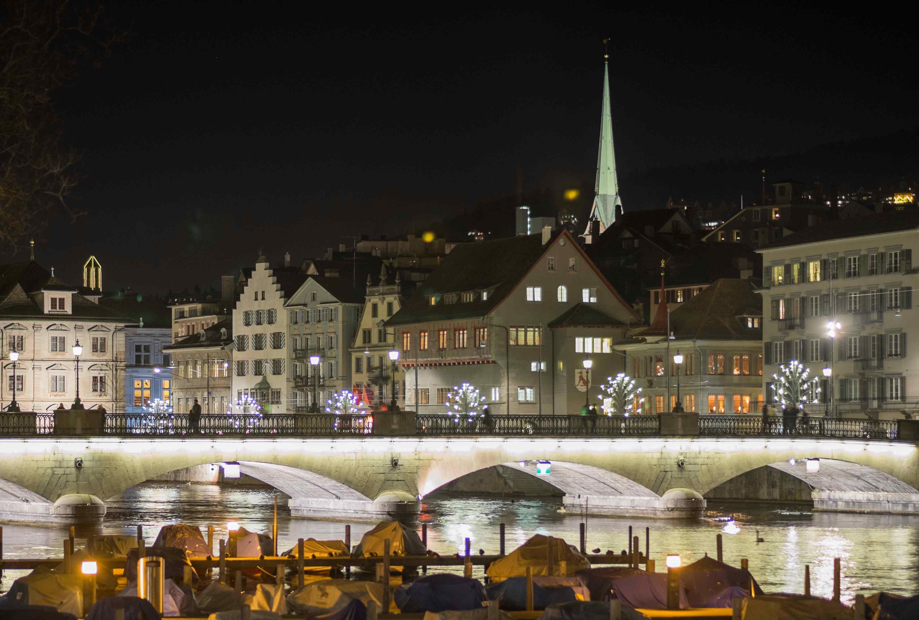 Zurich Christmas season