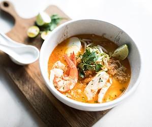L'extraordinaire soupe Laksa