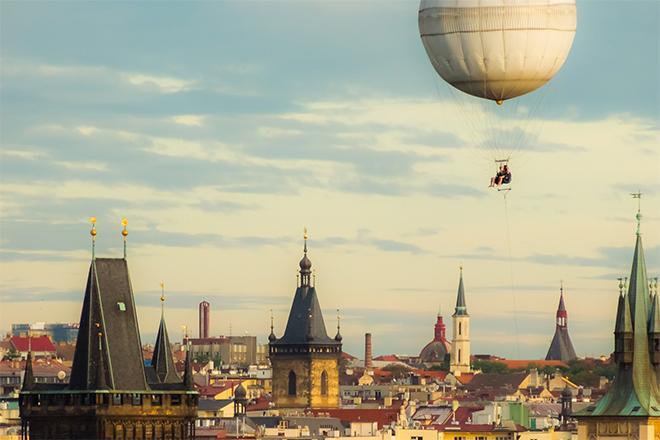 Ballon Prag