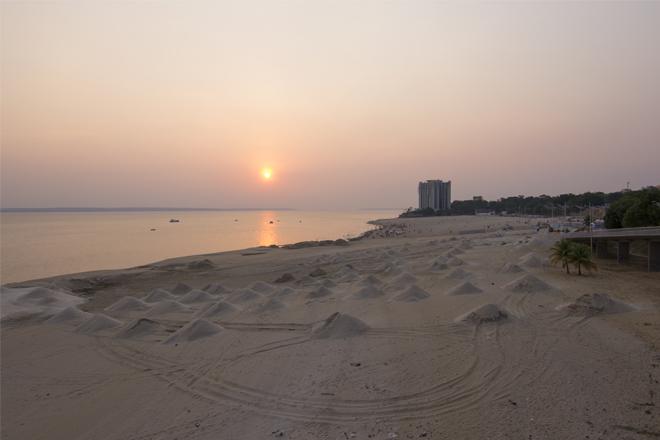 Praias de água doce do Rio Negro