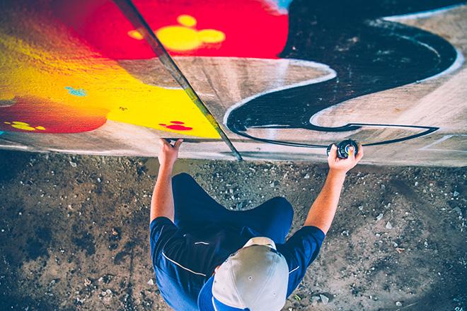 Graffitis Valparaiso