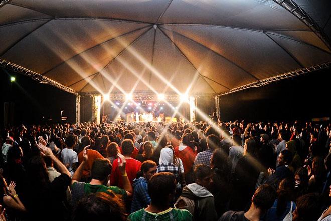 Carnaval alternativo do Festival Psicodália (Foto: Gabriel Araújo)