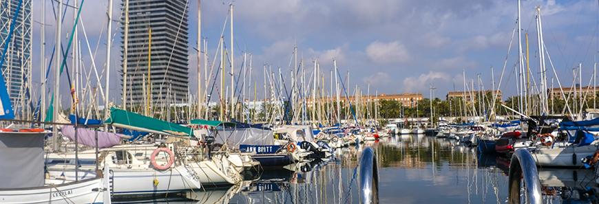 Puerto deportivo de Barcelona