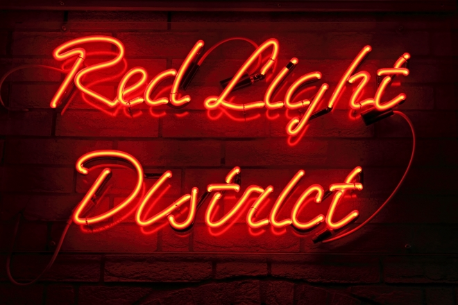 Il Red Light District di Amsterdam