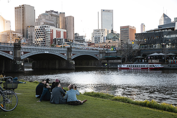 Melbourne may be a bustling city, but there are plenty of places to relax and unwind, you just have to know where to look.