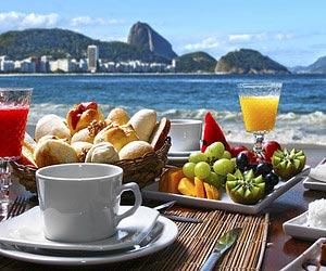 Restaurantes em Cartões-Postais do Brasil