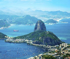 In Rio de Janeiro einen Maracujasaft trinken
