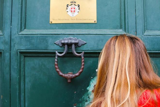 buco della serratura a roma