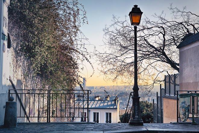 Scorcio di Parigi da Montmartre