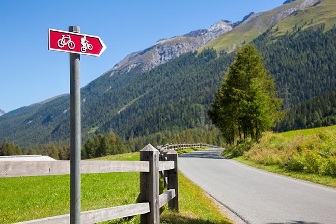 vélo en suisse