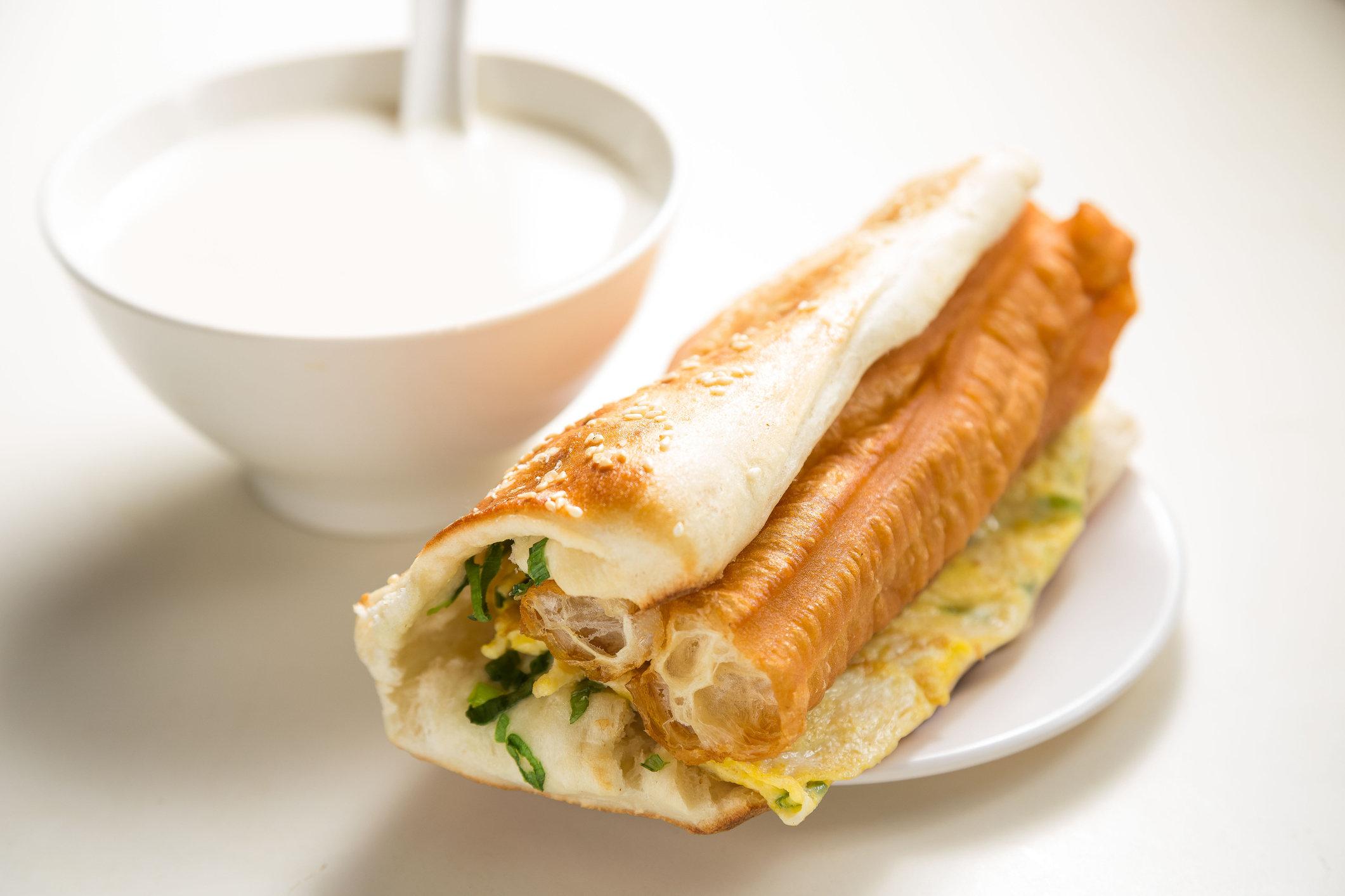 Taiwan local breakfast