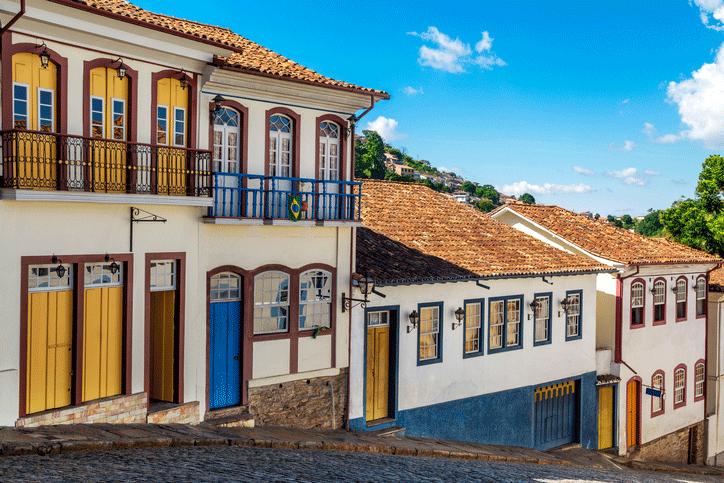 Rua em Ouro Preto, Minas Gerais