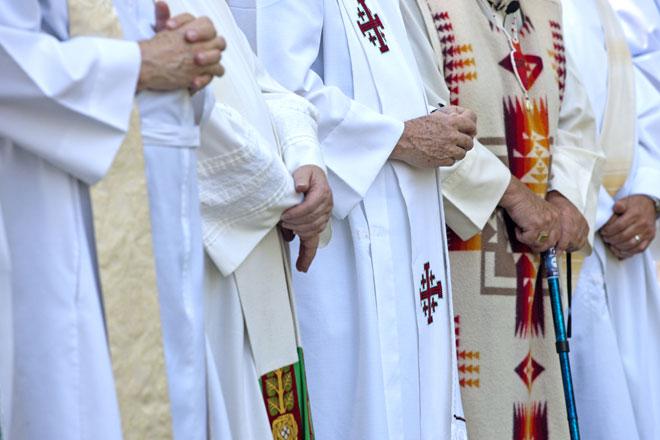 Sacerdotes da igreja