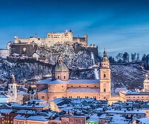 Weihnachtsfeeling in Salzburg