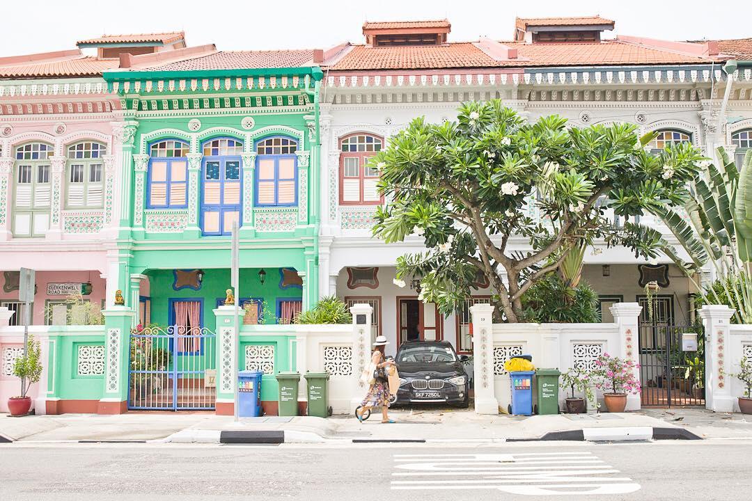 Peranakan Shophouses