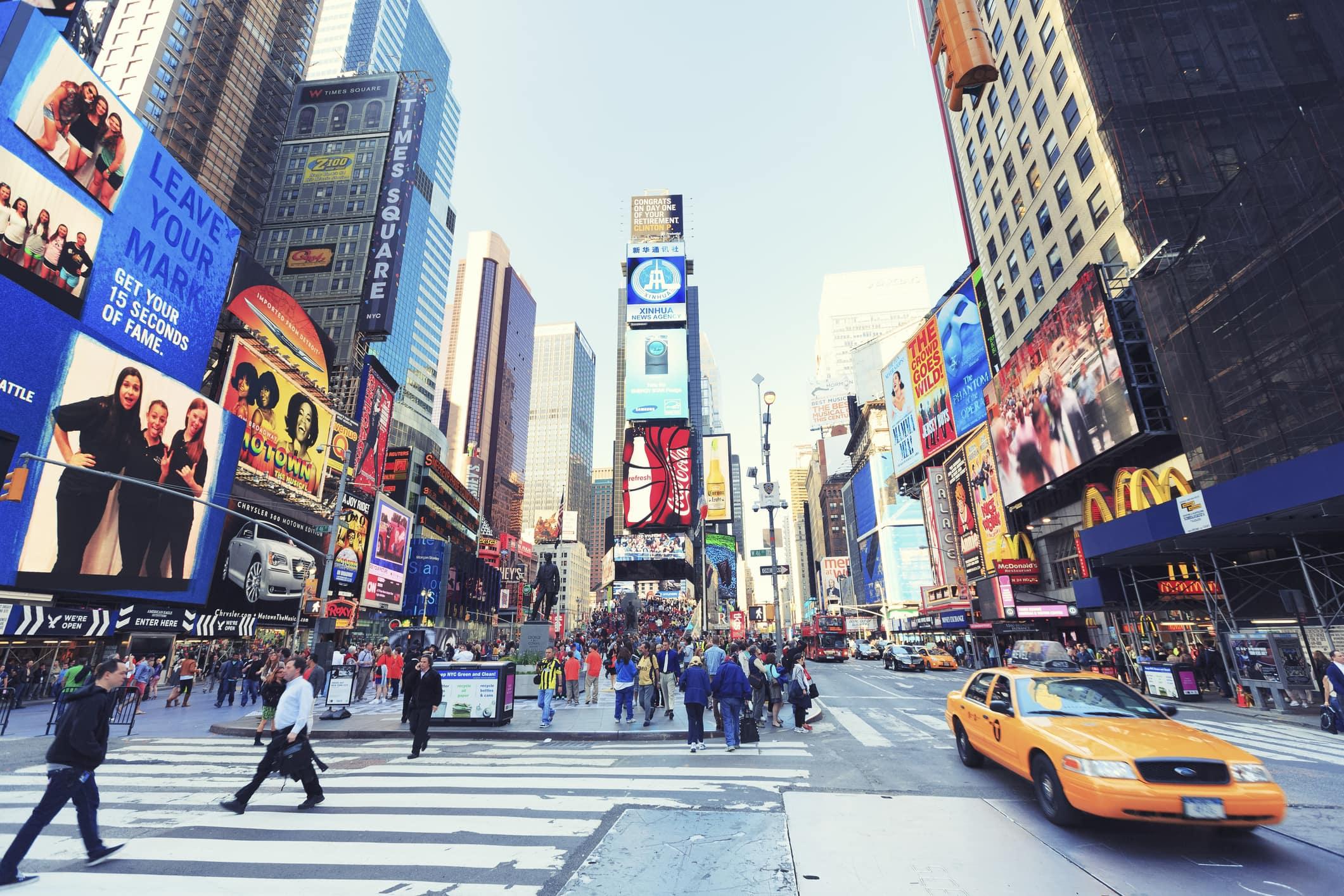 Times Square à New York City