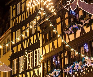 Shopping for some special decorations in Strasbourg