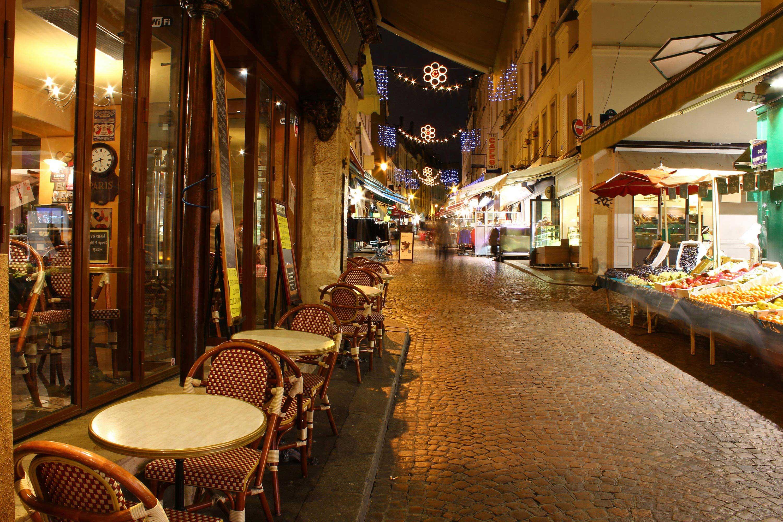 Shopping streets paris