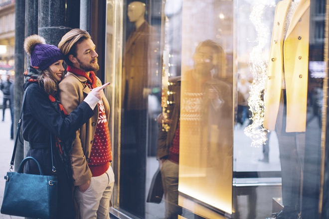 Molto originale: Weihnachts-Shopping in Rom