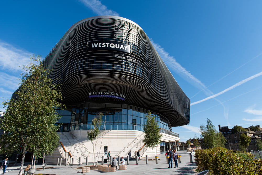 Take advantage of a lovely day at Westquay Shopping Centre