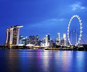 Singapur bei Nacht erleben