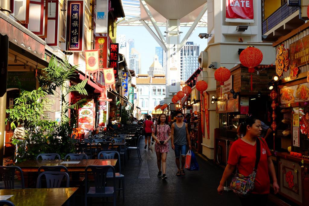 Smith Street in Chinatown, Singapore. Source: Nicolas Lannuzel