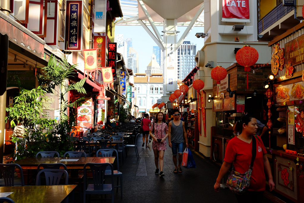 Smith Street in Chinatown, Singapore. Source: Nicolas Lannuzel