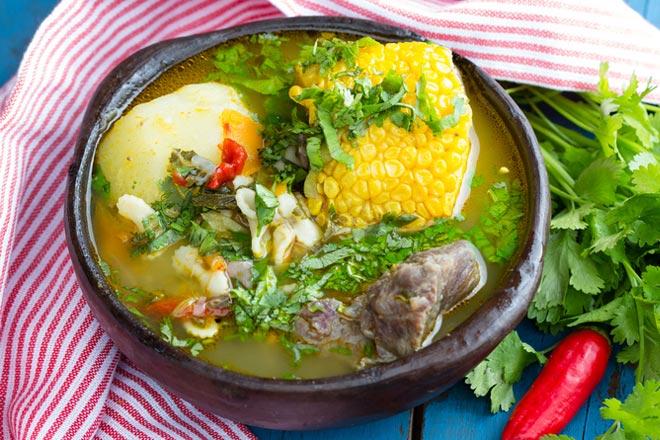 sopa chilena