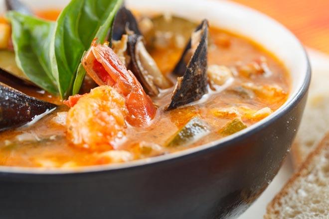 sopa peixe