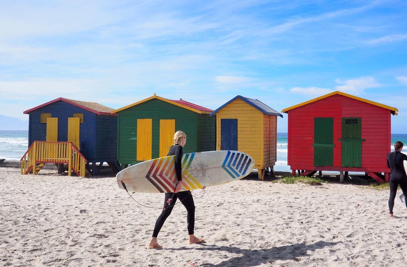 spot de surf afrique sud