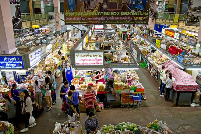 Chiang Mai Thailand Warorot Market